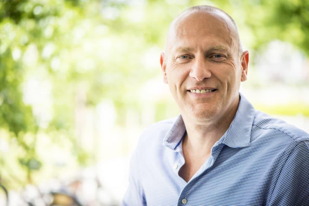 """""""De Digital-afdeling van Aquafin heeft medewerkers in alle soorten en maten nodig,"""" zegt Manager Digital Ronny Goossens"""