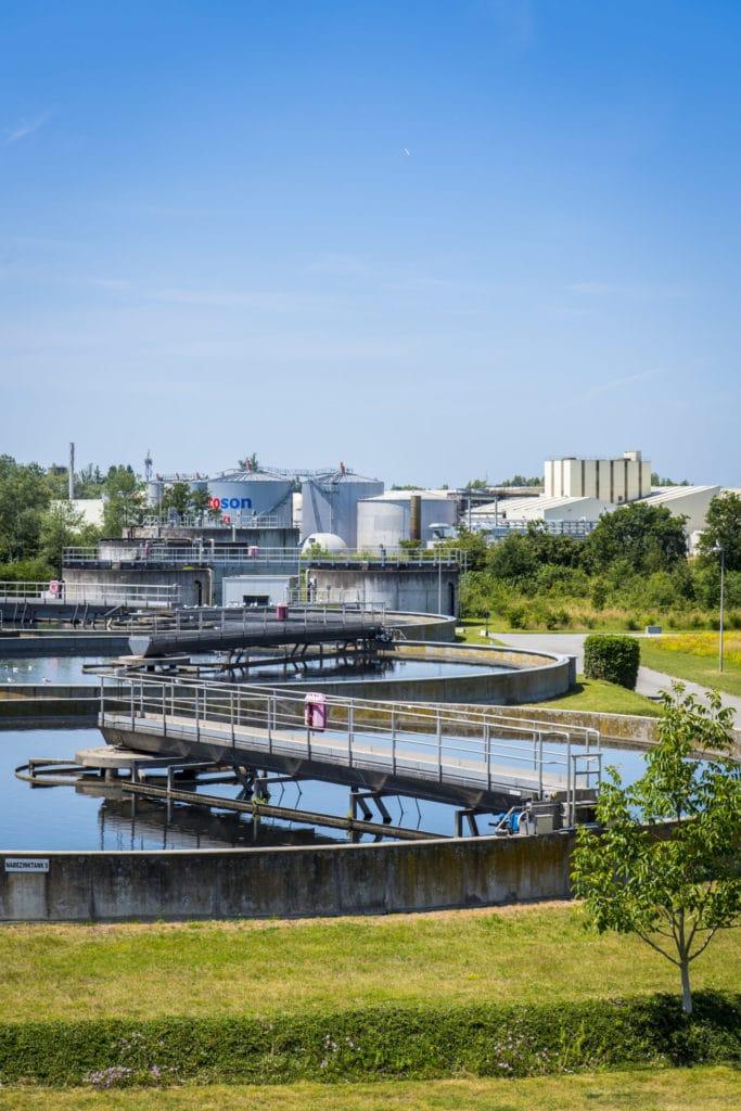 De hoofdkantoormedewerkers van Aquafin kunnen flexibel werken op waterzuiveringsstations.