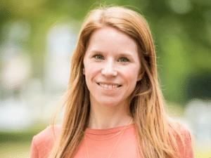 Laura Overlaet, Manager Digital Products bij Aquafin