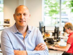 Ronny Goossens, Manager Digital (CIO) bij Aquafin