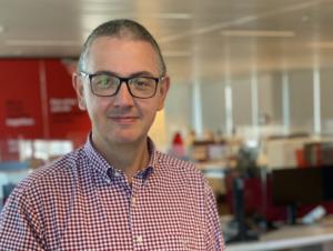 """""""Bij Napoleon zitten IT'ers zeker mee aan tafel. Zolang ze het plezier van de spelers maar voorop zetten!"""" CTO Peter Thijs. Amon This is IT 2021. ICT & Digital coach of the Year."""